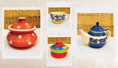 Ceramic Pots and Dishes